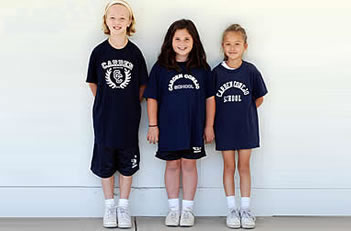 Boys and Girls 2nd - 5th Grade Sports Uniform