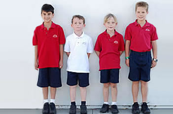 Boys k-5th Grade Uniform