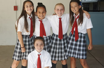 Girls 5th Grade Uniform Friday