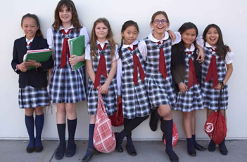 Girls k-4th Grade Uniform Friday
