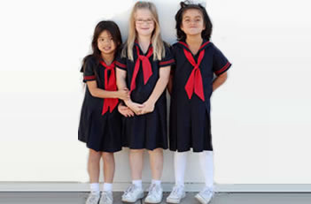 Girls K - 5th Grade Uniform Monday - Thursday